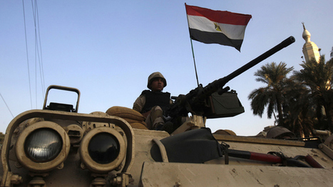 Major offensive: Egypt brings tanks and choppers to 'clean' Sinai of ...   Conflict In Egypt   Scoop.it