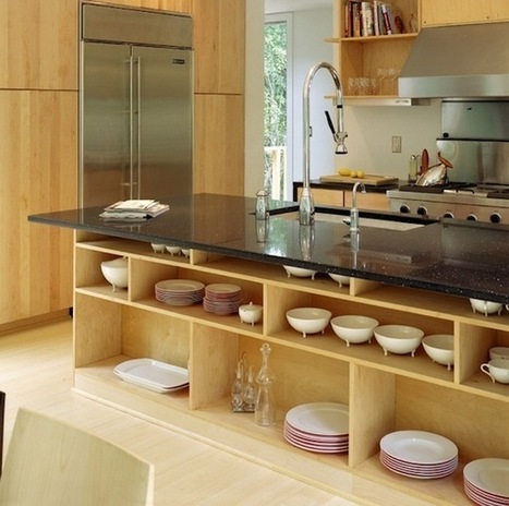 Beautiful And Functional Storage With Kitchen Open Shelving Ideas | Designing Interiors | Scoop.it