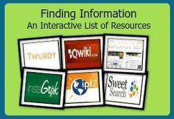 An Interactive Playlist of Search Engines to Support All Learners | 21st Century Research and Information Fluency | Scoop.it