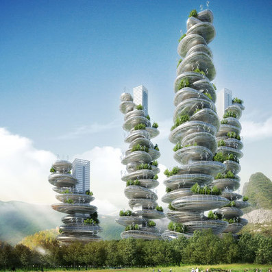 Asian Cairns by Vincent Callebaut | Collaborative practices | Scoop.it