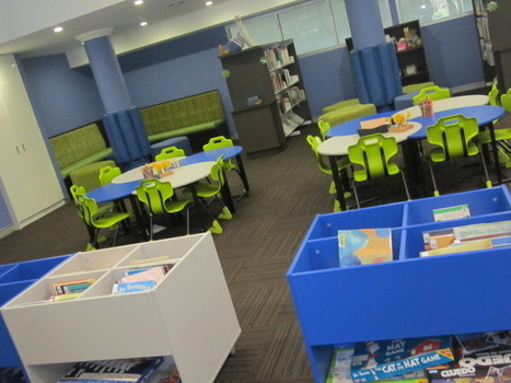 Junior activity zone in our learning centre | The 21st Century Elementary Library | Scoop.it