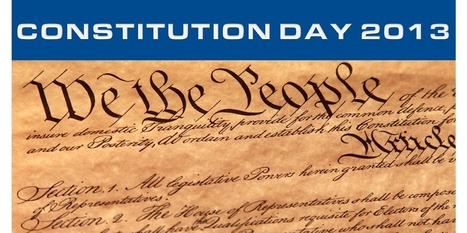 Constitution Day 2013 | Lapin Law Offices | Gov and Law Reed Klunder | Scoop.it