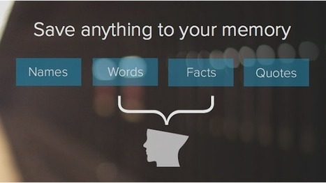 MemStash Helps You Remember Words, Quotes, Facts, or Anything Else with Timely Reminders | Le Top des Applications Web et Logiciels Gratuits | Scoop.it