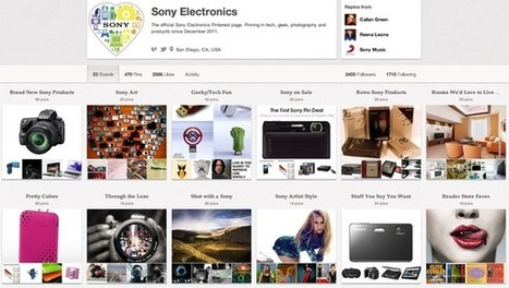 How Brands Use Pinterest to Increase Traffic and Sales | Community Management | Scoop.it
