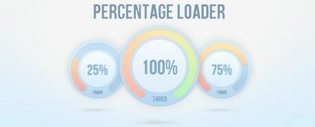 Percentage Loader - créer de magnifiques loaders avec jQuery   JFPalmier   WebDevelopment   Scoop.it