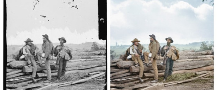 Colorized American Civil War Photos Beautifully Bring Past To Life   The Huffington Post   Amériques   Scoop.it