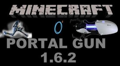 Portal Gun Mod 1.7.2/1.7.3 | lol | Scoop.it