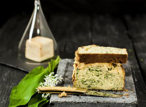 Cake au fromage de Herve et à l'ail des ours | The Voice of Cheese | Scoop.it