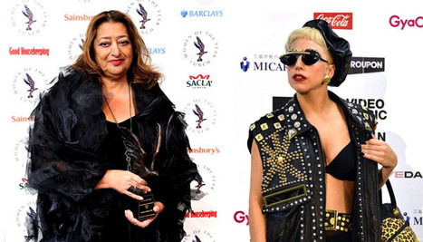 Style:  The Starchitect and the Pop Star: 10 Reasons Why Zaha Hadid and Lady Gaga Must Be Twins From the Future | Art and activism | Scoop.it