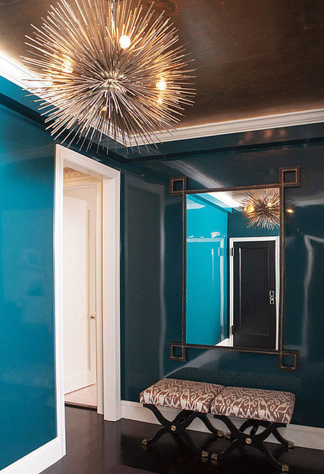 Shades of Blue for a Powerful Interior   Interior Design   Scoop.it