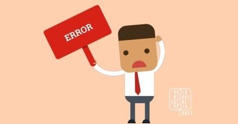 Errores más comunes en redes sociales y cómo evitarlos@NataliaFdezLara | #socialmedia #rrss #economia | Scoop.it
