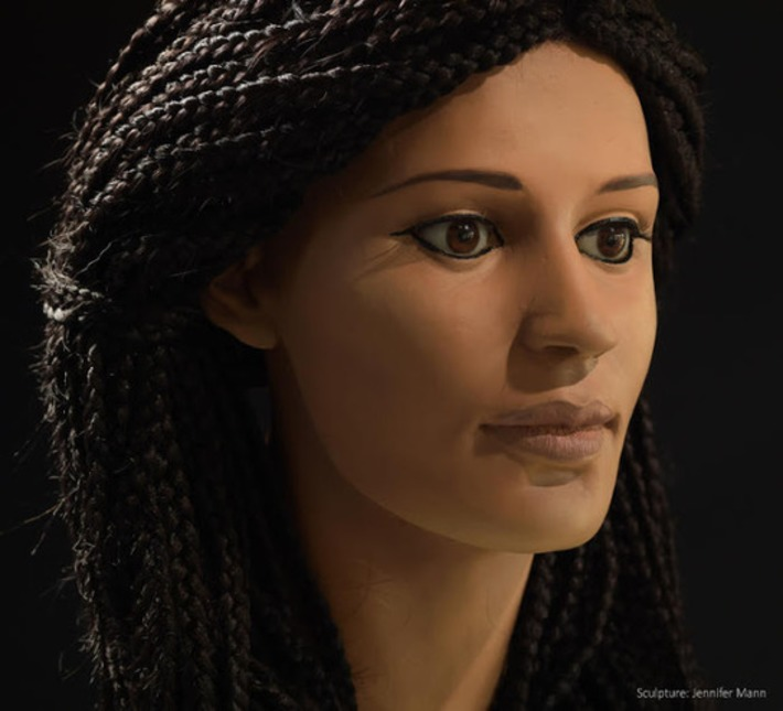 Ancient Egyptian woman Meritamun 'brought to life' 2000 years later | Archaeology News Network | Kiosque du monde : Afrique | Scoop.it