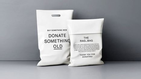 Clothing Retailer's Shopping Bags Turn Inside Out to Become Recycling Mailers | Sustainable Entertainment - #OneYoungWorld - #HavasSE | Scoop.it
