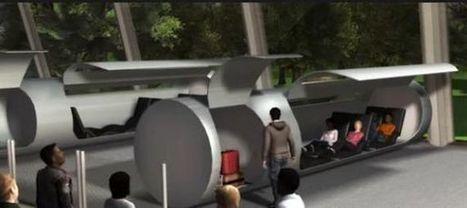 Hyperloop, le transport du futur à mi-chemin entre le Concorde et le canon électrique | Innovation automobile | Scoop.it