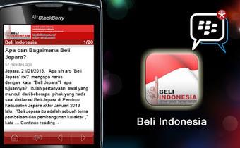 Sebuah Catatan Kehidupan: Aplikasi Blackberry untuk Gerakan Beli Indonesia | Tidak Anti Asing tapi Anti Penjajahan | Scoop.it