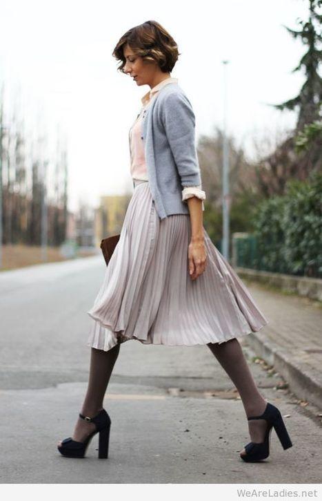 Wonderful skirt look idea   Pintast   Scoop.it