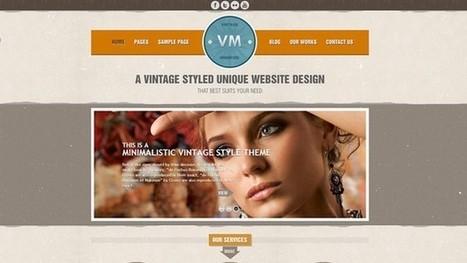 Vintage Premium WordPress Theme [Free for a limited time] | Free & Premium WordPress Themes | Scoop.it