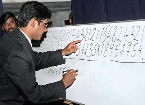 Numerical prodigy sets Guinness record | Big Data | Scoop.it
