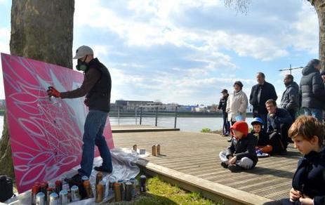 À Alfortville, ils découvrent l'art sur les quais de Seine - Le Parisien | Yantez | Scoop.it