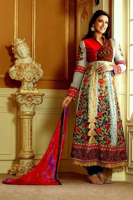 Bollywood Anarkali Suits | Bollywood Anarkali Salwar Kameez | Scoop.it