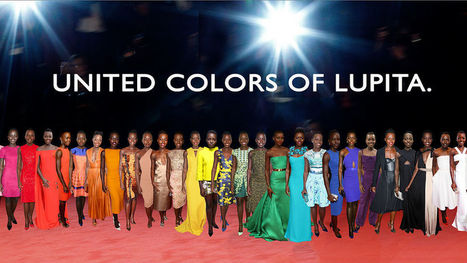 This Lupita Nyong'o Fashion Rainbow Is Pretty Fantastic | Lovely father | Scoop.it