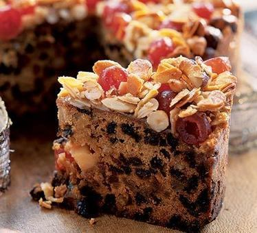 Festive fruit & nut cake | food | Scoop.it