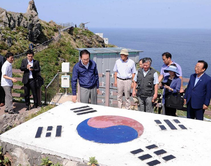 Korean President Visits Dokdo Island | Korean News & Media Trends | Scoop.it