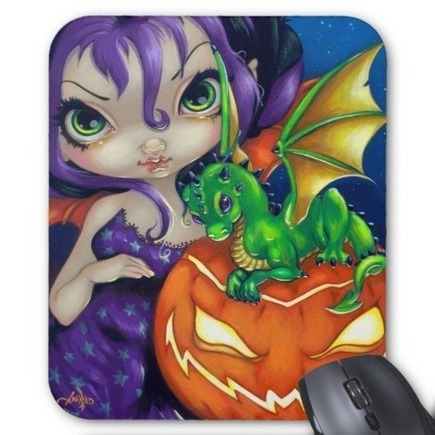 """Darling Dragonling II"" Mousepad 