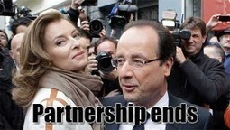 Hollande Breaks Up With The First Lady. No More Scooter Trips #STi | News From Stirring Trouble Internationally | Scoop.it