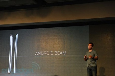 Google announces NFC-based Android Beam for sharing between phones (video) | Digital Marketing Power | Scoop.it