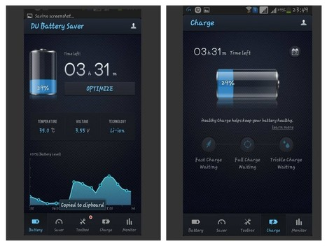 Top 5 battery saver android apps - Androcid | Web, software & Mobile Apps design and development | Scoop.it