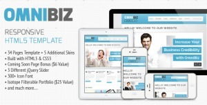 Omnibiz - Business Website Template with Responsive Design | Tips, Inspiration, Web Design and Tech Resources | Scoop.it