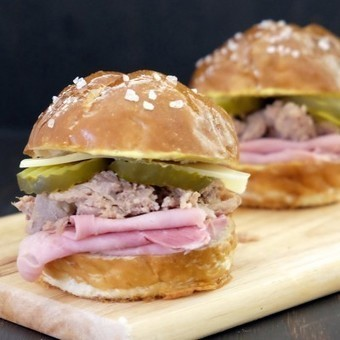 Cubano Style Pulled Pork Sliders | Box lunch | Scoop.it