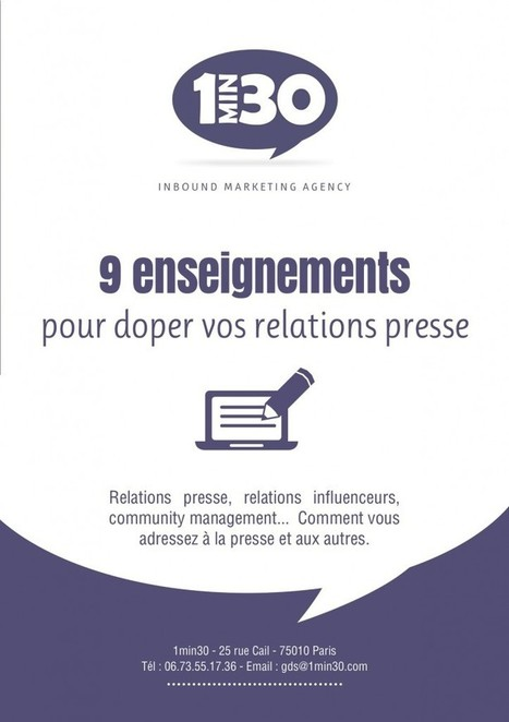 Relations presse et marketing: quelles synergies? | Digital Marketing | Scoop.it