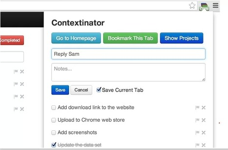 Contextinator : Browse the Internets around your projects [Chrome] | Time to Learn | Scoop.it