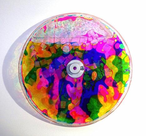 Des disques vinyles remplis de bulles colorées, pour rendre l'écoute encore plus psychédélique ? | ON-TopAudio | Scoop.it