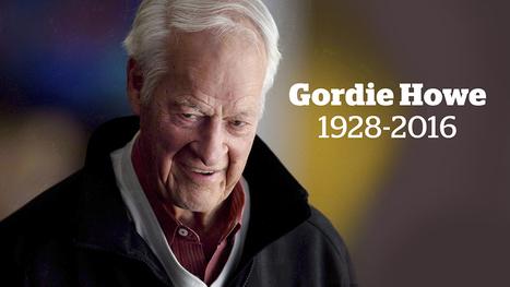 Hockey legend Gordie Howe dies | World Events and Interesting Articles | Scoop.it
