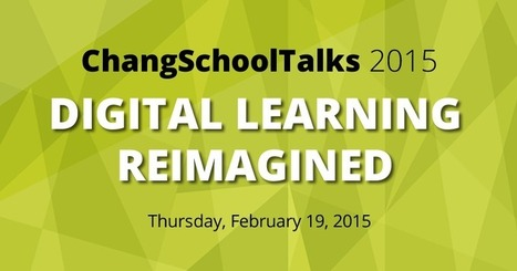 ChangSchoolTalks 2015   Digital Artifacts that Engage Students   Scoop.it
