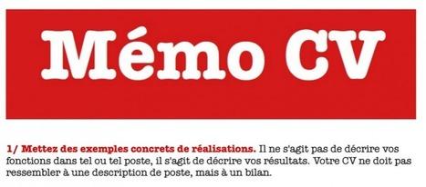Un mémo CV pour les lecteurs de PoleDoc' | Jobdoc | Scoop.it