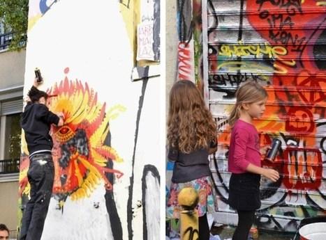 Café street art à Belleville | Carnets d'une flaneuse parisienne | Pralines | Scoop.it
