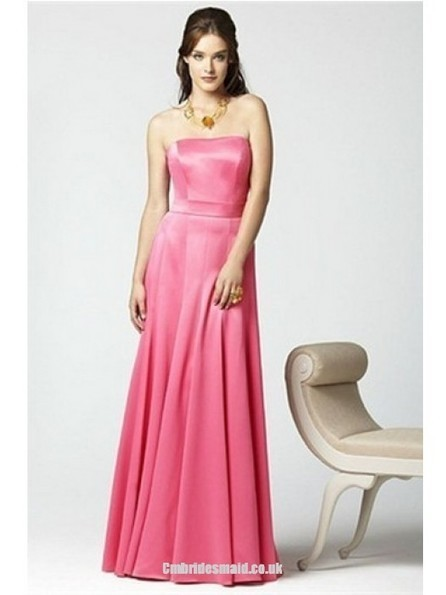 2013 sweet bridesmaid dresses the Sleeveless HotPink Hourglass Floor-Length Uk Bridesmaid Dress - Cmbridesmaid.co.uk | Press Release from dressmebridal.co.uk | Scoop.it