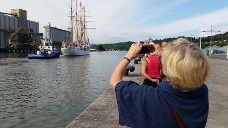 L'Esméralda a quitté le port de Rouen - France 3 Haute-Normandie | Armada de Rouen 2013 | Scoop.it