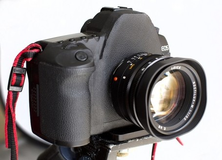 Frankenstein'd EOS 5D Mark II takes Leica M Lenses | Photo Magazine | Scoop.it