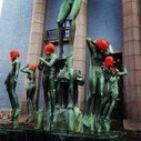 US president Obama visit Stockholm, Sweden – Artists covered the city's statues with orange | A Piece of…ART | Scoop.it