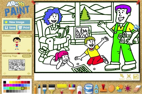ABCya! PaintGo | Kid's Coloring, Drawing, Stickers & Painting Activity | Cool Tools for Drawing and Painting | Scoop.it
