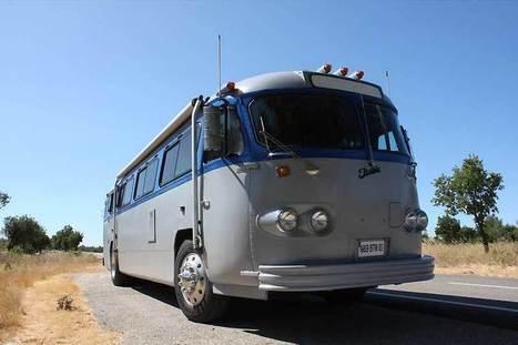 Chambre d'hôtes Var au Luc en Provence 2 Piscines chauffées spa sauna location gite | Dormir dans un Bus Américain! | Scoop.it