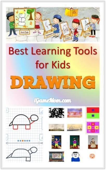 Best Learning Tools for Kids to Learn Drawing | IKT och iPad i undervisningen | Scoop.it