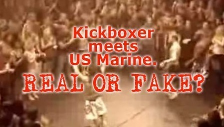 The Bohemian Kickboxer meets US Marine video. Real or fake? - ThatsNonsense.com | Notizie Farlocche | Scoop.it