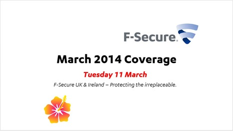 March Coverage (11th) | F-Secure Coverage (UK) | Scoop.it