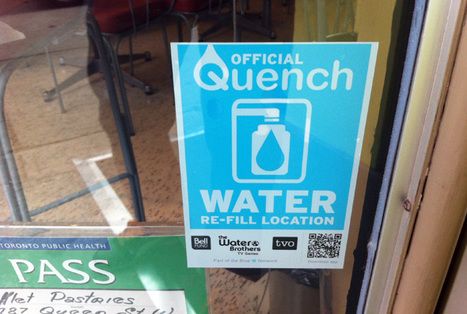 Quench wants you to re-fill your water bottle | Water Stewardship | Scoop.it